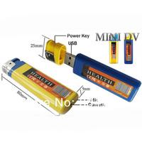 free shipping 720*480 VGA lighter camera mini dv with pinhole hidden camera smallest camera