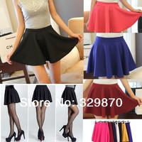 6Colors New 2014 Fashion Skirt Women Summer Bubble Skirt, OL TUTU Short Skirt Ladies Short Dresses, Falbala Shorts Women.