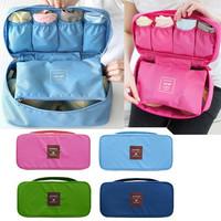 4Color Underwear Storage Bags Organizer Bras Bags Panties Socks Storage Case Waterproof Travel Portable Storage Box & Bra Case