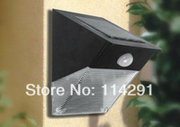 12 LED Waterproof Solar wall lamps luminaria PIR sensor wall lamp wall sconce garden light outdoor wall lights outdoor lighting
