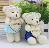 24pcs/lot free shipping 2014 new design cartoon water drop crystal bear toy,Cartoon bouquet flower wrapping material wholesale