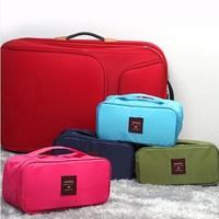 Travel Multi-functional Waterproof Underwear Pouch Portable Bra Pants Socks Storage Bag Undearwear Storage Organizers