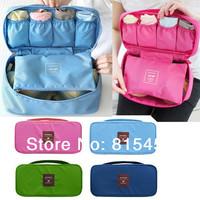 4Color Underwear Storage Bag Organizer Bras Bags Panties Socks Storage Bag Waterproof Travel Portable Storage Box & Bra Case