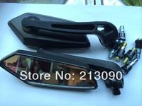 Free shipping KOSO Universal One Set Rear Mirror MOTORCYCLE Scooter 8mm  For HONDA YAMAHA SUZUKI