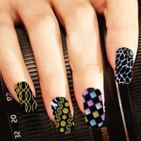 Finger 3d three-dimensional applique delicate nail art nail art full qyh