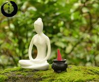 Fashion ceramic home decoration crafts furnishings decoration yoga gifts modern brief