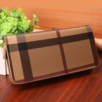 Vintage design long zipper wallet lovers wallet  designer