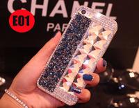 Original  Luxury New rhinestone diamond case  For zopo c2 zp980 phone protetcive  bright  shell diamond frame  hard cover