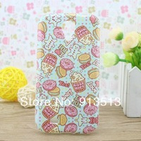 CUPCAKE TPU case for samsung galaxy s4 mobile phone back defender cases cover for samsung galaxy s IV i9500 free shipping