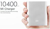 free shipping External Battery Pack original xiaomi power bank 10400mAh portable powerbank Charger for xiaomi hongmi iphone/Kate