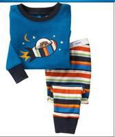 Retail,2013 new,100%cotton boys spiderman pajamas branded kid children ,Cartoon pajamas,Children's pajamas instock