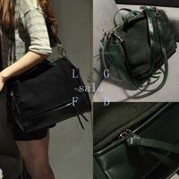 2pcs/lot New arrival!free shipping lether vintage women handbag shoulder bag ladies tot messenger bags 13549 F