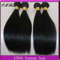 OM Hair:Bella Dream Hair 3 Bundles Malaysian Virgin Hair Straight Cheap Malaysian Human Hair Weave Straight 100g/pc Color #1b