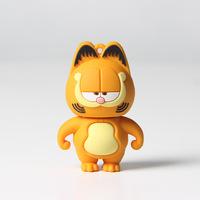 Stocks Cute lovely cartoon gafield cat usb flash memory drive pen disk drive 8gb 16gb 32gb 2.0 gift  key drive!