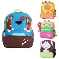 Children cartoon backpack fahsion cute animal kids school bag 2014 new arrived B159