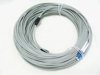 Lc duplex sc-lc 50 meters 100 meter amoring fiber optic jumper pigtail
