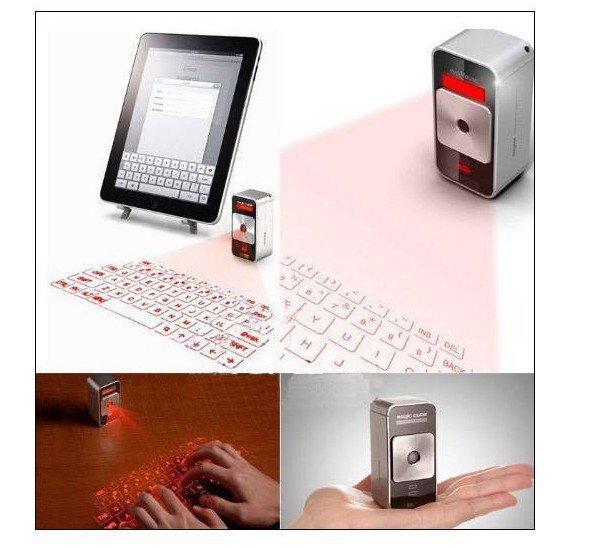 Enchantment Cube Laser Virtual Projection Keyboard - Ezy4Gaddgets