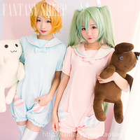 2014 Real Direct Selling Freeshipping Adult Women Cotton Knitted Summer Vocaloid Hatsune Miku Project Diva F Rin Cosplay Costume