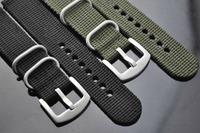 one piece free shipping nylon strap 28mm nylon military watch straps nylon watchband army Green nylon watch band reloj & relojes
