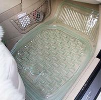 Car pvc car mats waterproof transparent mat car slip-resistant general mat car plastic mat