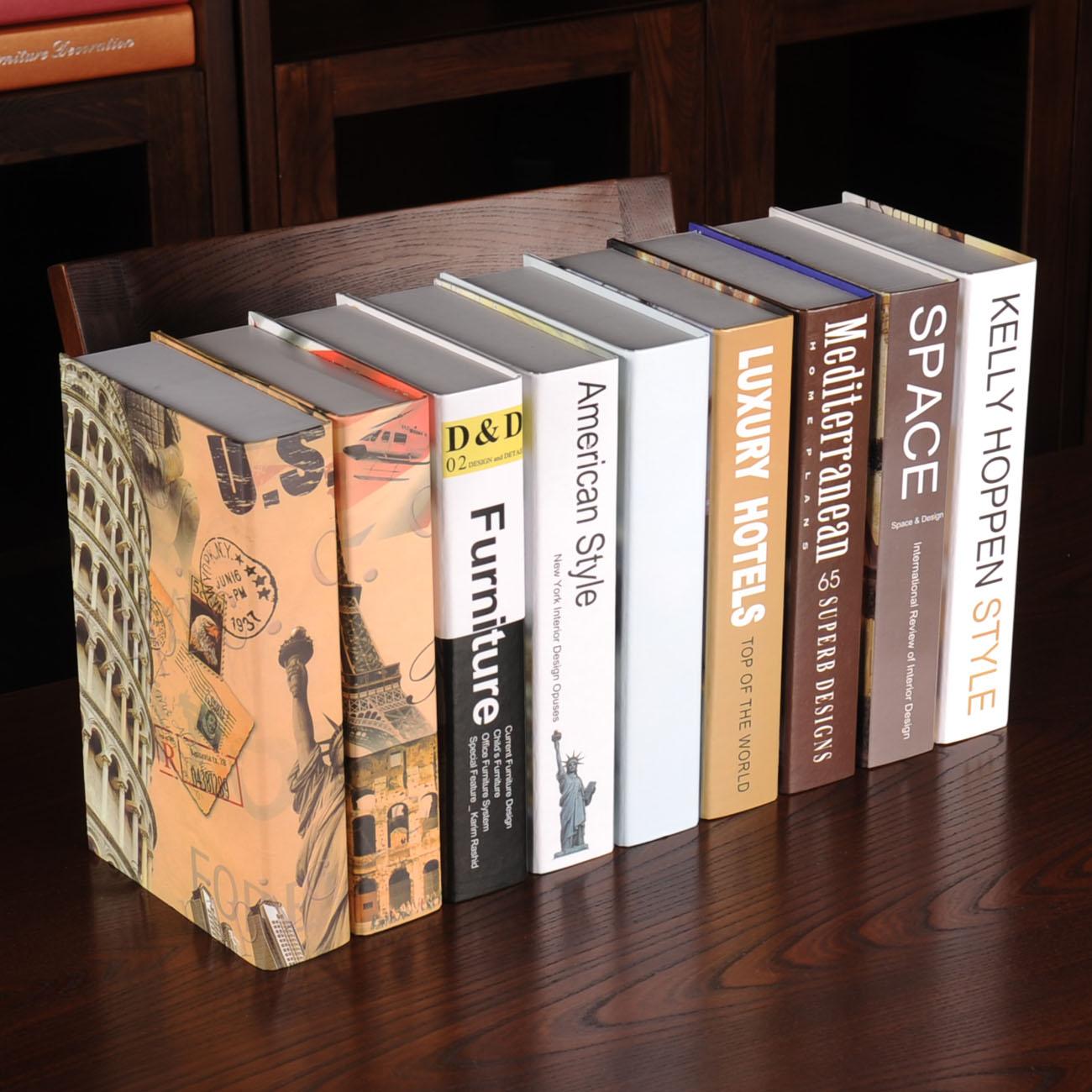 Modern book decoration book bookcase props books book box(China (Mainland))