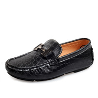 2014 Moccasins male genuine leather snakeskin Men Moccasins fashion men's the trend of casual