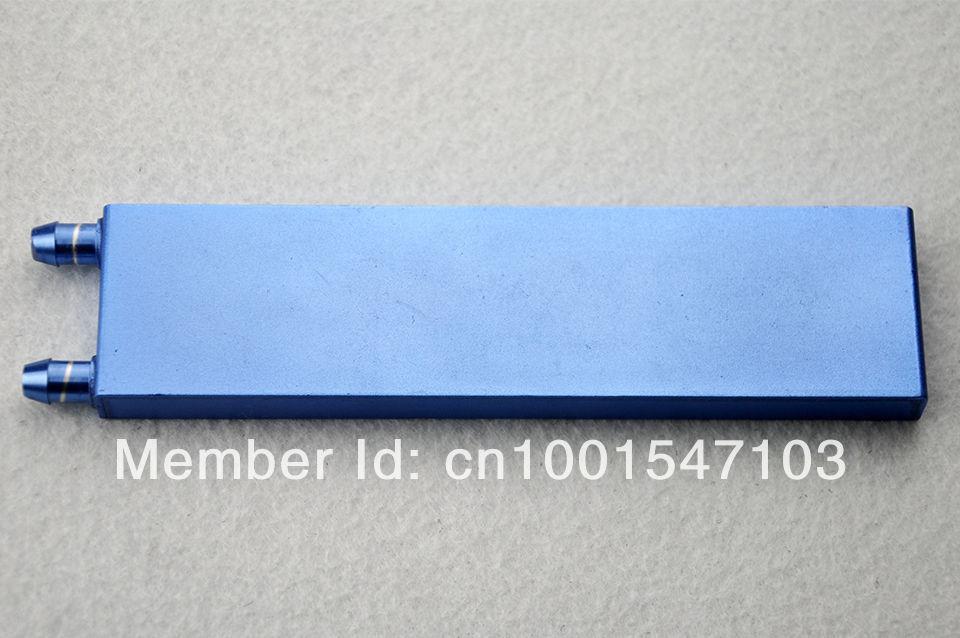 água de alumínio 162mm*41mm*12mm bloco de arrefecimento para cpu gráficos dissipador de calor do radiador frete grátis(China (Mainland))