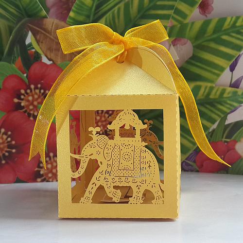 Elephant Wedding Favors Favor Box Wedding Party