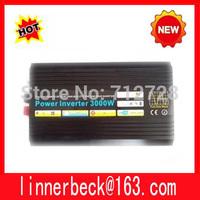 Best quality!!dc 12v/24v/48v to ac 100v-120v/220v-240v 3000w/3kw ,peak 6000w pure sine wave solar inverter
