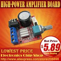 dual channel 2 X 10W 12V D class small-volume high-power amplifier board HIFI
