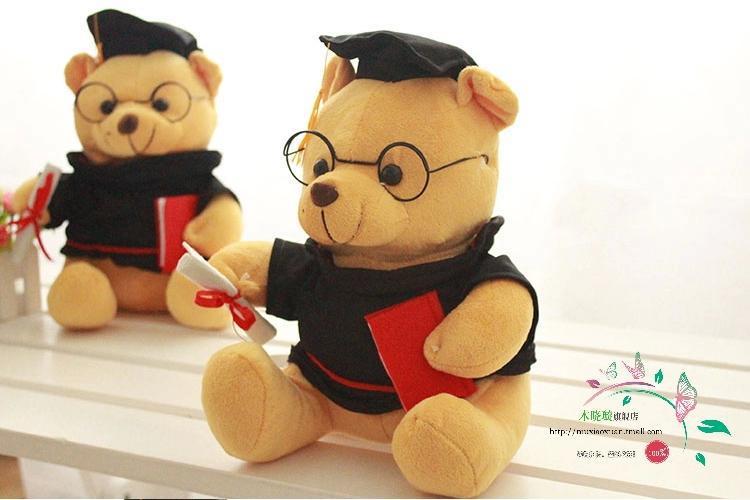College Graduation Gift,Wholesale Retail Stuffed Plush Lovely Bears,Fashion and Popular Stuffed Plush Teddy Bears,Drop Shipping(China (Mainland))