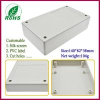 4pcs/lot plastic box electronics enclosure for  electronic project box 142*82*40mm 2.59*3.23*1.57inch