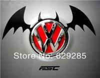 Free shipping 3D Devil Style Demon Car logo Sticker ,batman sticker Emblem Paper Devil 3D Car Sticker Wholesale