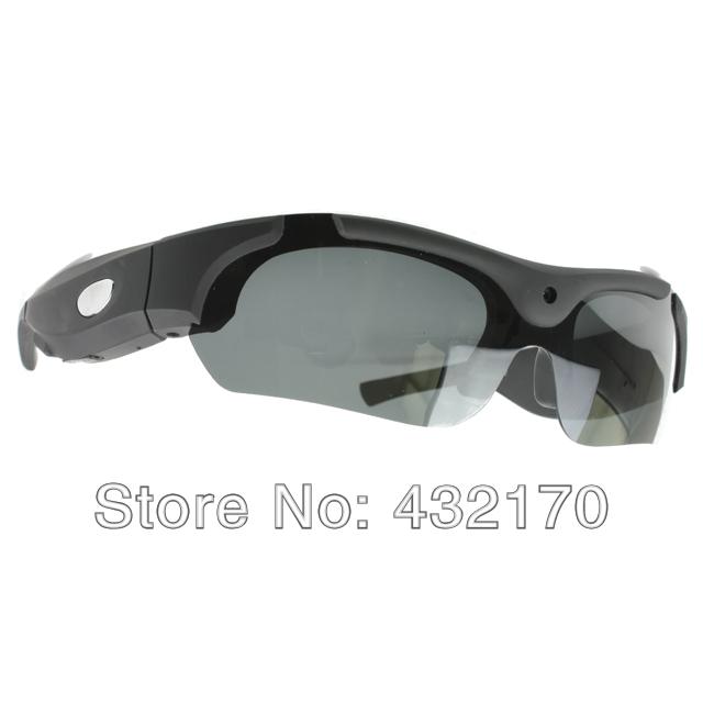 Freeshipping Fashion 720P Sports Wireless Black Sunglasses Camcorder Webcam Mini DVR HD DV Cam Camera 4GB(China (Mainland))