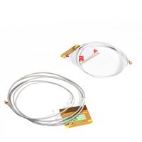 One Pair WNC Built-in Wireless Yellow MINIPCI PCI-E Netbook Wifi Antenna Laptop Antenna