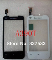 New Touch Screen Digitizer/Replacement for Lenovo A390T (white / black )+free shipping