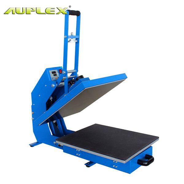 "15x15"" semi auto open drawer heat press machine HP3804D print the heat press leading manufacturer(China (Mainland))"
