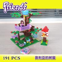 Bela Building Blocks Hot Toy Friends Olivia's Tree House Construction Educational Bricks Toys for Girl Assembling Blocks Gift