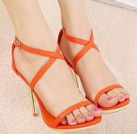 2014 Simple Style Sandals Summer Heel Sandals