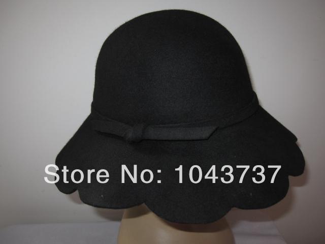Женская фетровая шляпа SISI 100% Cloche ,  12pc wool-26 женская фетровая шляпа brand new 2015 fedora cloche hat cap 6 bm890