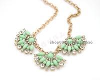 Chain pendant rhombus fashion clothes female short necklace