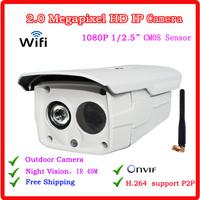 2 megapixel high definition Onvif Wireless ip Camera outdoor