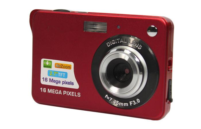 2015 New Fashion Digital camera 2.7 inch TFT LCD 16.0 mega pixels 4X digital zoom Smile Capture Anti-shake Video Camcorder(China (Mainland))