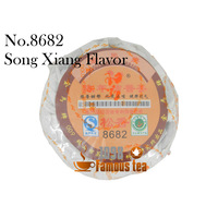 Organic 5pcs No.8682 Jinma Puer tea Songxiang with Orange Ripe Tea Chinese Cha 1098 Famous Tea Wholesale Free Shipping