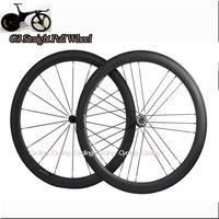G3 Straight Pull wheel  with Powerway R36 HUB 50mm Clincher bicycle wheels 700c Carbon fiber road bike Racing wheelset