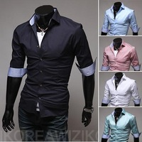 2014 new summer multicolour version of Jane men in shirt sleeves for self-cultivation