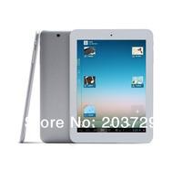 2PCS/LOT Chuwi V8S 8 inch Allwinner A31S Quad Core Android 4.1 Tablet PC 1GB RAM 16GB ROM HDMI OTG Dual Camera 1024*768px White