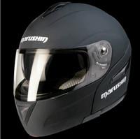 Marushin motorcycle helmet full face helmet M409 dual lens visor with anti-fog lenses