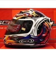 Sol motorcycle helmet 68s belt led lighting unicorn second generation helmet