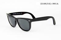 Big Size R 2140 Green Lens Men Women Sunglasses Wayfarer Two Size Classic Vintage Retro Outdoor Sun Glasses With Original Box